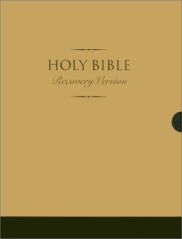 9780736306317: Holy Bible: Recovery Version Black Bonded Leather