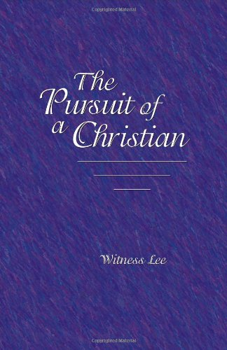 9780736312776: Pursuit of a Christian, The