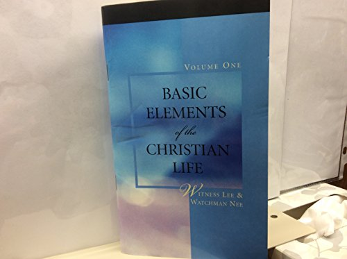 9780736320375: Basic Elements of the Christian Life, Vol. 1