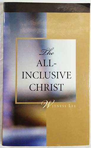 9780736323147: THE ALL-INCLUSIVE CHRIST