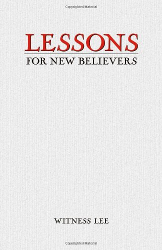 9780736329606: Lessons for New Believers
