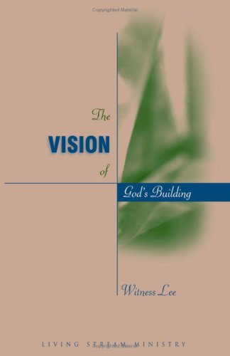 9780736330473: Vision of God's Building, The