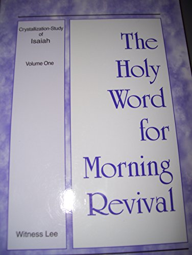The Holy Word for Morning Revival (Crystallization: n/a