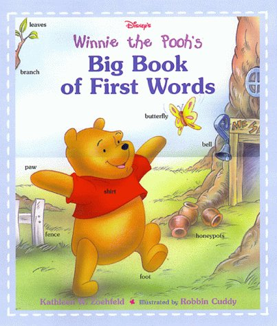 9780736401425: Disney's: Winnie the Pooh's - Big Book of First Words (Learn and Grow)