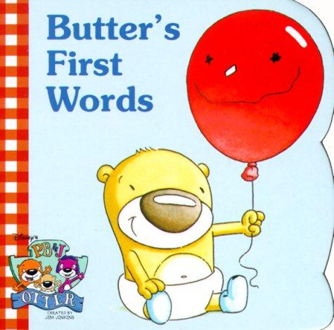 9780736401845: Butter's First Words (Pb&J Otter)