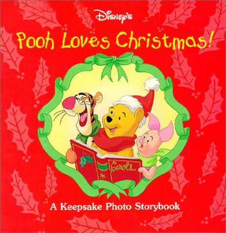 9780736401913: Disney's Pooh Loves Christmas! (Keepsake Photo Storybooks)