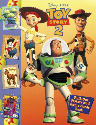 9780736402293: Toy Story 2: Pull-out Poster and Trading Card Bk