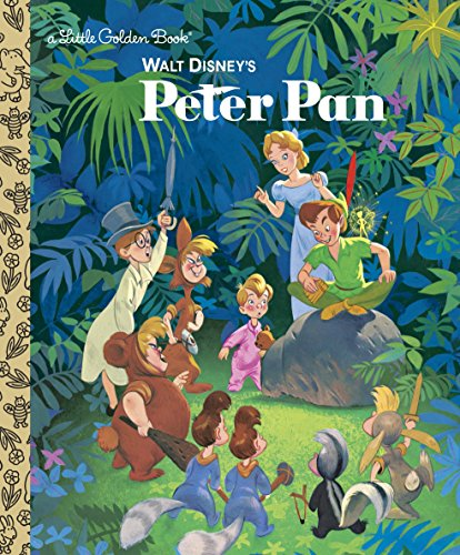 9780736402385: Walt Disney's Peter Pan (Disney Peter Pan) (Little Golden Book)