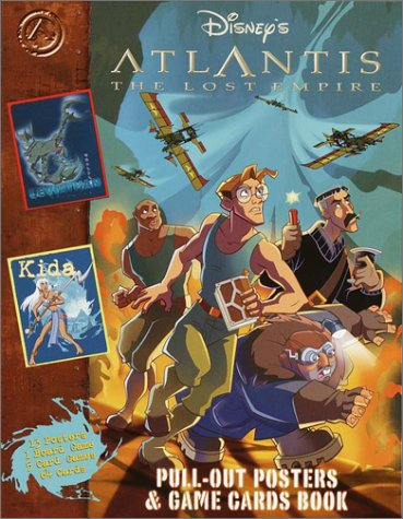 9780736411332 atlantis pull out posters and game cards book with