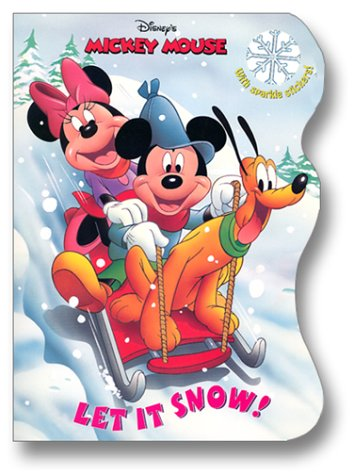 Let It Snow! (Glitter Sticker Book) (0736411860) by RH Disney