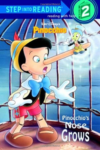 9780736412131: Pinocchio's Nose Grows (Disney Pinocchio) (Step Into Reading: (Early Paperback))