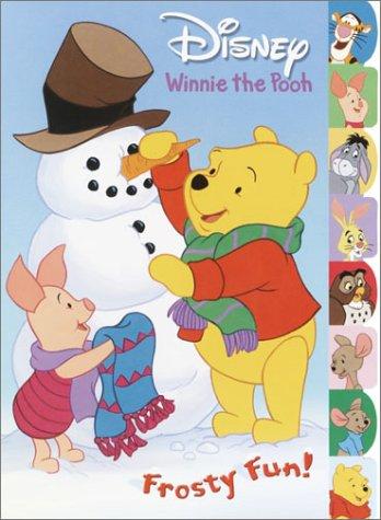 Disney's Winnie the Pooh Frosty Fun Tabbed Coloring Book: Liberts, Jennifer