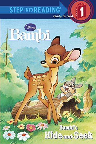 9780736413473: Bambi's Hide and Seek (Step-Into-Reading, Step 1)
