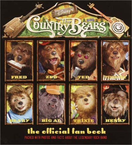 9780736420365: Country Bears, The: Official Fan Book