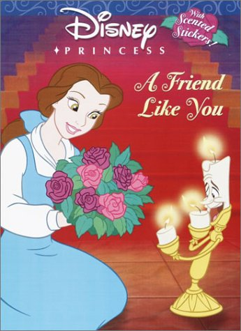 A Friend Like You (Scented Sticker Coloring: Lagonegro, Melissa