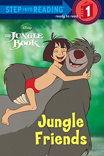 9780736420891: Jungle Friends (Disney Jungle Book) (Step Into Reading. Early Books)