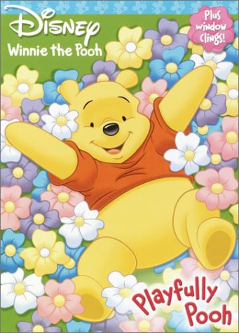 9780736421249: Playfully Pooh (Window Cling Book)