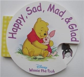 9780736421348: Happy, Sad, Mad & Glad (Circular Wheel Book)