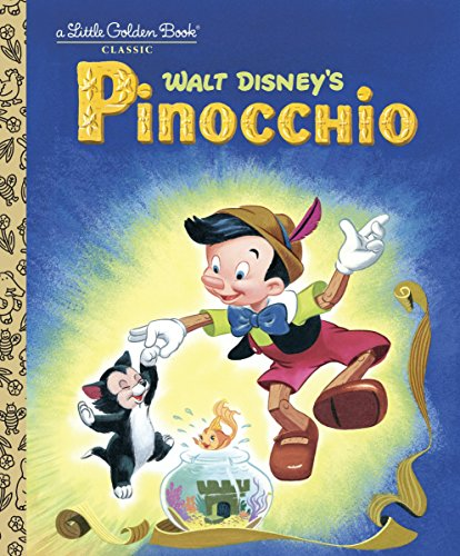 9780736421522: Pinocchio (Disney Classic) (Little Golden Book)