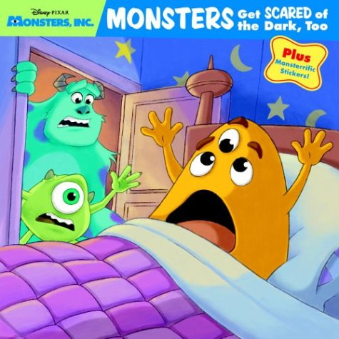 9780736421621: Monsters Get Scared of the Dark, Too (Pictureback(R))