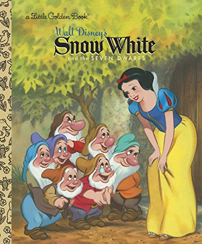 9780736421867: Snow White and the Seven Dwarfs (Disney Princess) (Little Golden Books)