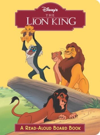 9780736422031: The Lion King (Read-Aloud Board Book)