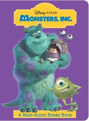 9780736422062: Monsters, Inc. (Read-Aloud Board Book)