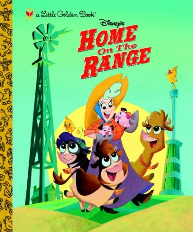 9780736422147: Home on the Range (Little Golden Book)