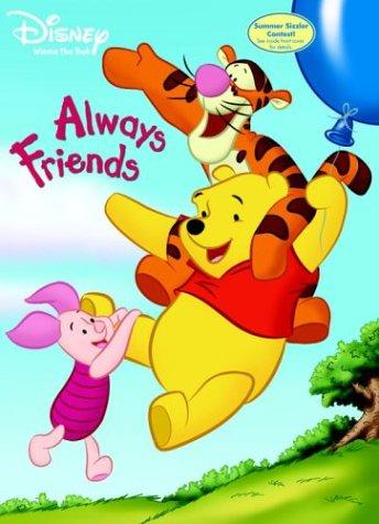 Always Friends (Super Coloring Book): Golden Books