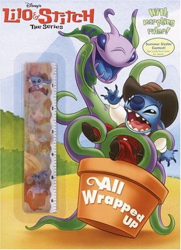 Lilo & Stitch:All Wrapped Up (Color Plus Lenticular Ruler) (0736422374) by Golden Books