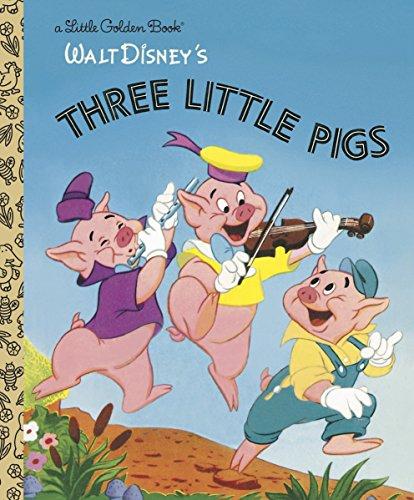 9780736423120: The Three Little Pigs (Disney Classic) (Little Golden Book)