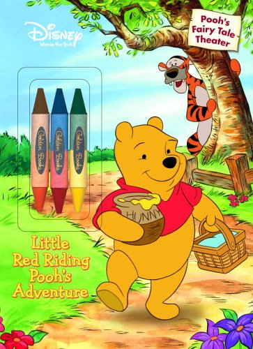 9780736423205: Little Red Riding Pooh's Adventure (Color Plus Double-Sided Crayon)