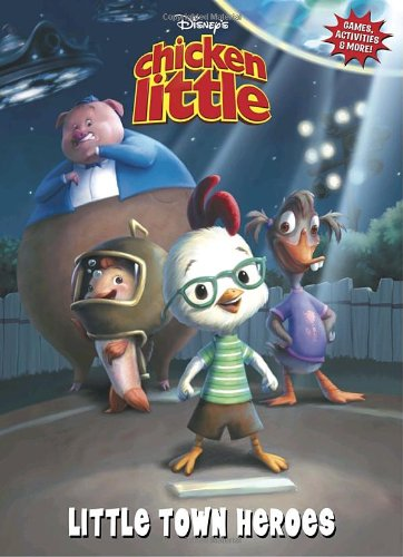 9780736423328: Chicken Little: Little Town Heroes (Deluxe Coloring Book)