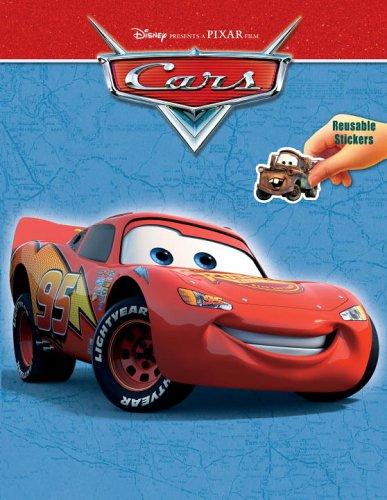9780736423427: Cars Reusable Sticker Book