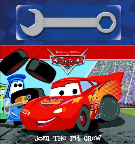 9780736423496: Cars: Join the Pit Crew (Cars movie tie in)