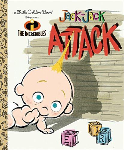 9780736423779: The Incredibles: Jack-Jack Attack (Little Golden Book)