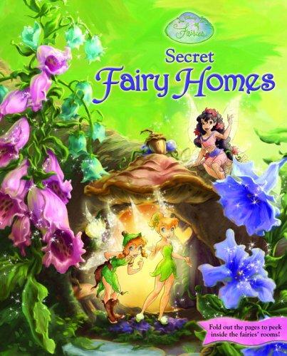 9780736424035: Secret Fairy Homes (Disney Fairies)