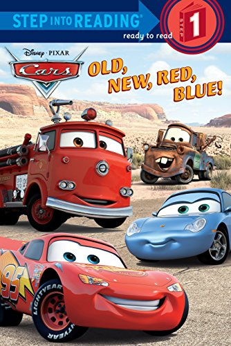 9780736424103: Old, New, Red, Blue! (Step into Reading) (Cars movie tie in)