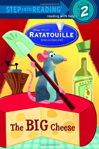 9780736424301: The Big Cheese (Step into Reading, Step 2) (Ratatouille movie tie in)