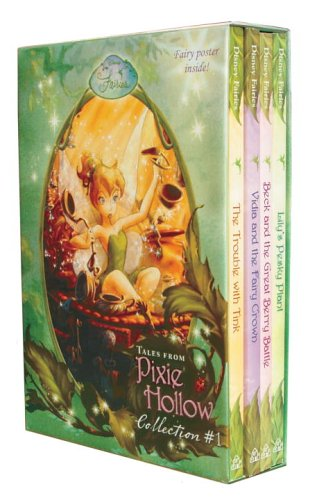 9780736424455: Tales From Pixie Hollow 4 copy Box Set (Disney Fairies)(Trouble with Tink, Lily's Pesky Plant, Vidia and the Fairy Crown, Beck and the Great Berry Battle)