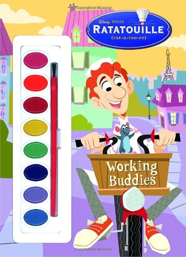 9780736424486: Working Buddies (Paint Box Book) (Ratatouille Movie Tie in)