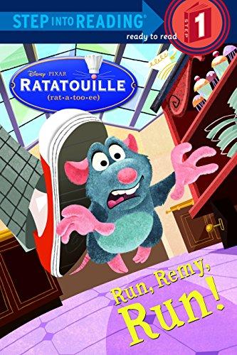 9780736424769: Run, Remy, Run! (Step into Reading) (Ratatouille Movie tie in)