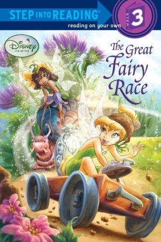 9780736425247: The Great Fairy Race (Disney Fairies) (Step into Reading)