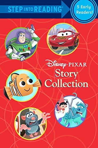 DISNEY PIXAR STORY COLLECTION-STEP INTO READING-5 EARLY READERS-STEP 1 AND STEP 2: Disney Pixar ...