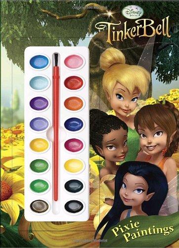 Pixie Paintings (Disney Fairies) (Deluxe Paint Box Book): RH Disney