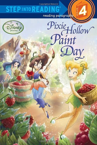 9780736425803: Pixie Hollow Paint Day (Disney Fairies) (Step into Reading)