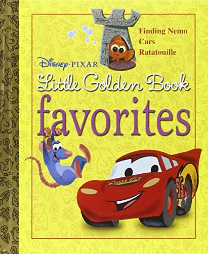 9780736425872: Disney-Pixar Little Golden Book Favorites: Finding Nemo, Cars, Ratatouille