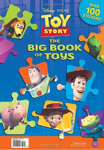 9780736425940: Toy Story: The Big Book of Toys [With Over 100 Stickers]