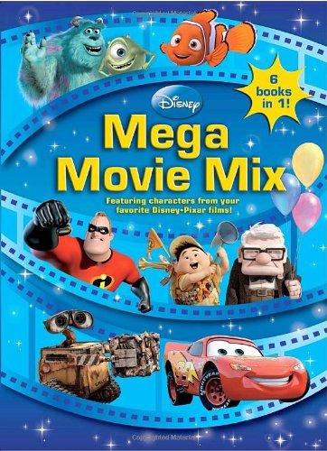 9780736426268: Disney-Pixar Mega Movie Mix