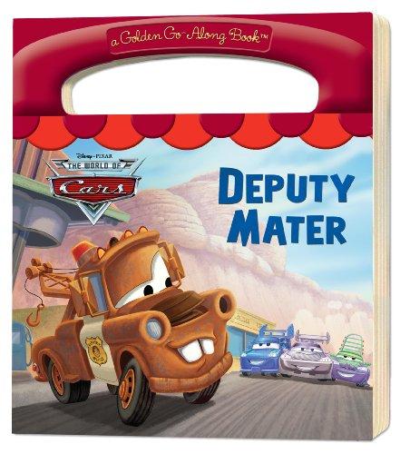 Deputy Mater (Disney/Pixar Cars) (a Golden Go-Along: Berrios, Frank